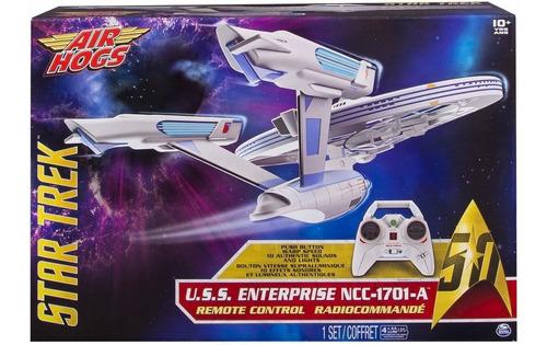 Star Trek Drone U.s.s. Enterprise Ncc-1701-a Rc - Air Hogs