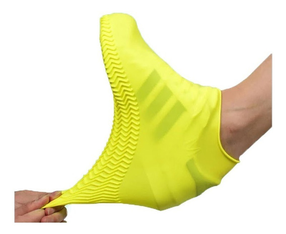 Protector Cubre Zapato Tenis Para Lluvia Impermeable Silicon