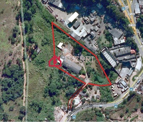 Terreno  Em Laranjeiras Com Galpão De 1300 M2 E Casas - 6519