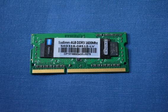 Memoria Ram Magnum Tech Sodimm 4 Gb. Ddr3 S4g316-08512-lv