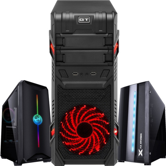 Pc Cpu Gamer Amd Ryzen 5 2400g 8gb Ddr4 A320m Ssd 240gb
