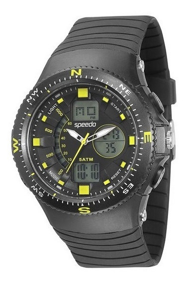Relógio Speedo 81082g0egnp2 Pulso Ana-digi Tipo G Shock