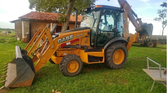 Retro Case 580n 4x4 Cabinada 2017 Com Parcelas