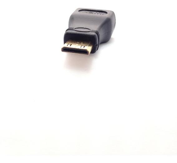 Adaptador Conversor Hdmi Fêmea X Mini Hdmi Macho / 1080p Tab