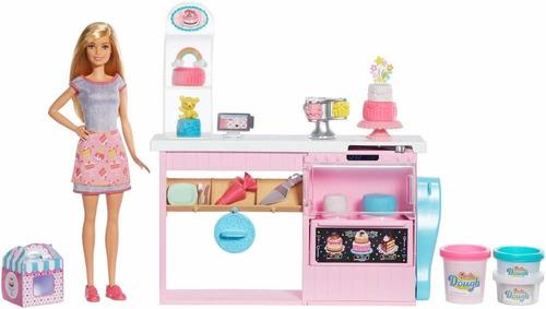 Imagem 1 de 10 de Boneca Barbie Boleira Decoração De Bolo Playset Nova 2019