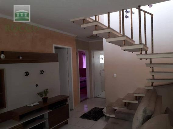 Casa Com 3 Dormitórios À Venda, 77 M² Por R$ 270.000,00 - Cruzeiro - São José Dos Pinhais/pr - Ca0230