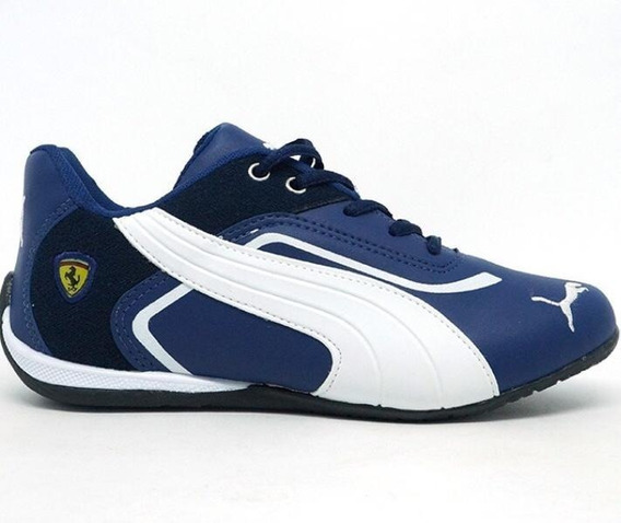 Tenis Puma Masculino Ferrari New Corrida Caminhada