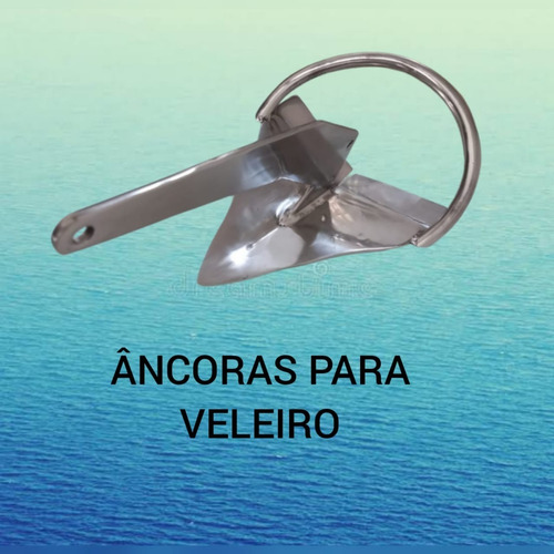 Imagem 1 de 2 de Âncora Rocna Aço Inox 10kgs