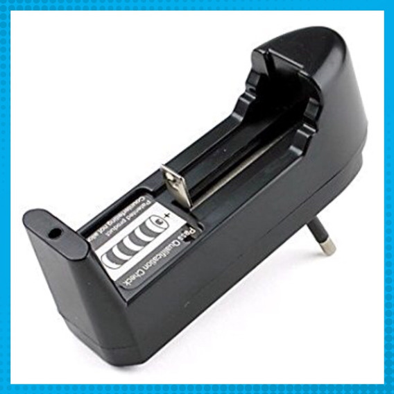 Carregador Bateria Lanterna 14500 16340 18650 Li 3,7v E 4,2v