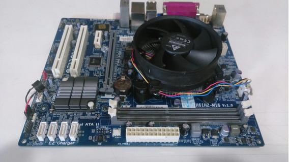 Kit Ecs-h61h2-m16 + Pentium Dual Core 2.90ghz + Cooler