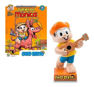 Hq Turma Da Mônica Vol. 5 + Figura Chico Bento Oficial