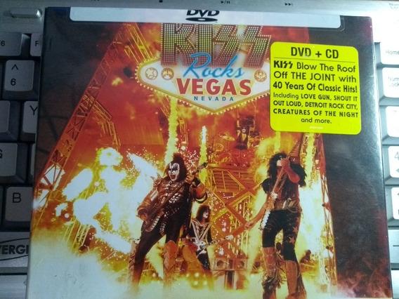Kiss - Rocks Vegas 2016 - Dvd+cd - Digipack - Novo Lacrado