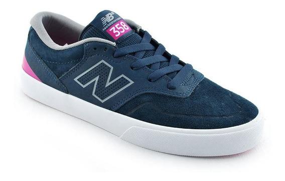 Zapatilla New Balance Nm 358 Npk Azul Fuxia Hombre Rcmdr