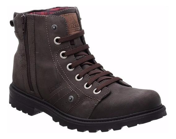 Sapato Botina Botinha Bota Coturno Advent Casual 100% Couro