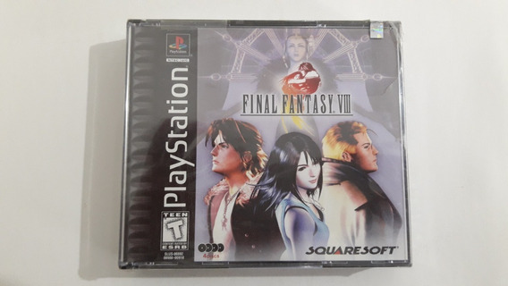 Ps1 Final Fantasy Viii Lacrado #630