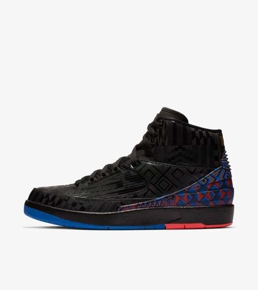 Tenis Nike Air Jordan Retro 2 Bhm Ediçao Limitada Raridade