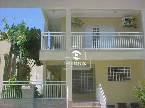 Casa À Venda, 448 M² Por R$ 2.235.000,00 - Campestre - Santo André/sp - Ca0508
