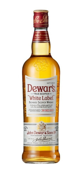 Whisky White Label 1 Botella 0.75 L