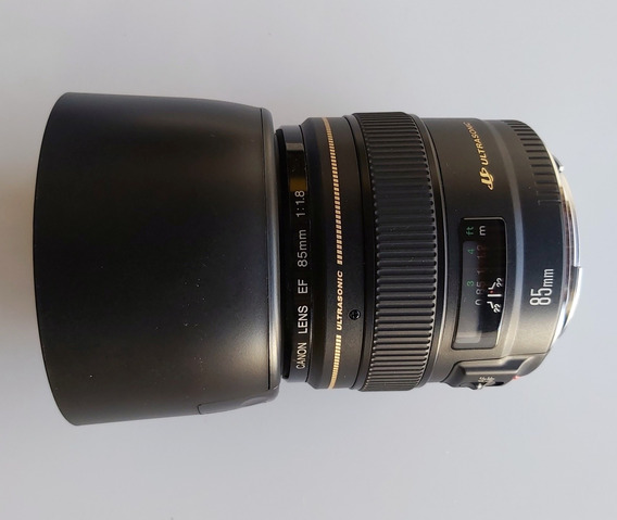 Lente Canon Ef 85mm F/1.8 Usm - Semi Nova