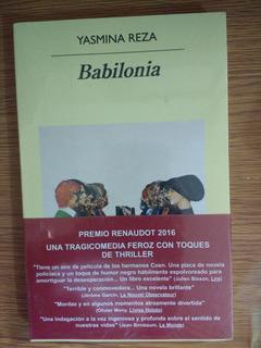 Babilonia Por Jasmina Reza + Envío Gratis