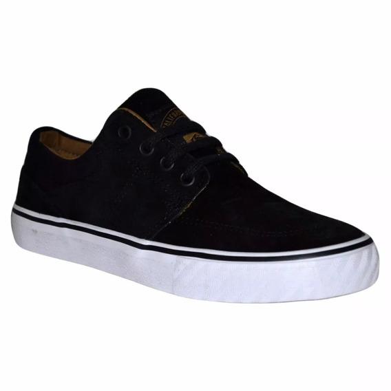 Zapatillas Rusty Yonkers Black Suede 02100 Cma