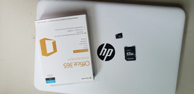 Notbook Hp 14 (memoria 32 Gb) + Cartão 60 Gb + Office 365