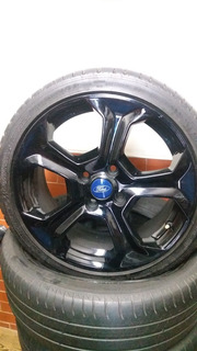 Vendo Los 4 Rines Con Llantas Ford Fiesta St