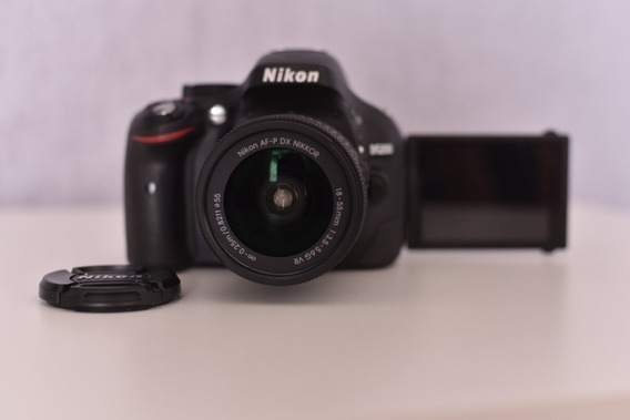 Câmera Nikon D5200 Full Hd Kit 18-55mm