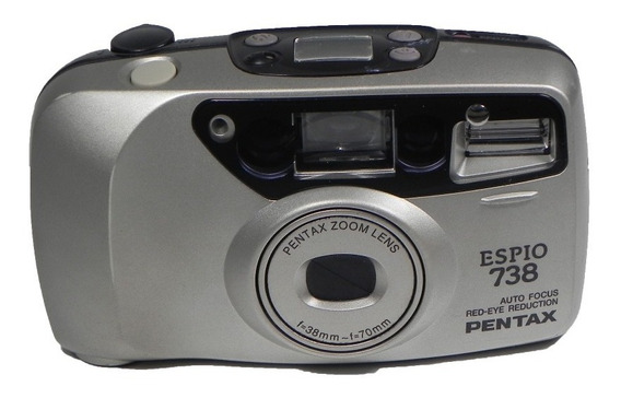 Câmera Analógica Pentax Espio 738 No Estado