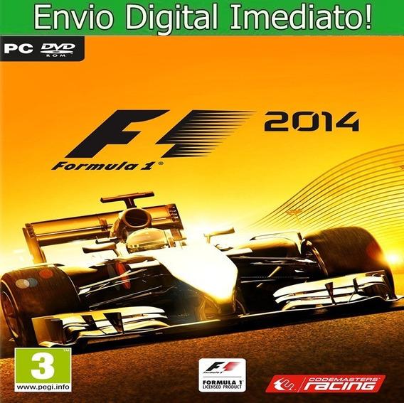 F1 2014 Pc Hd Envio Imediato.