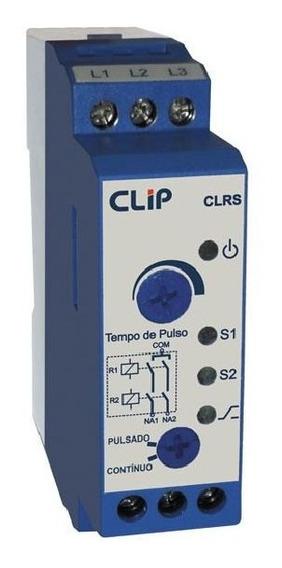 Relé De Sincronismo (bi) Função Pulsado E Contínua Clip Clrs