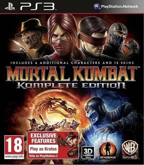 Mortal Kombat 9 Komplete Edition Ps3