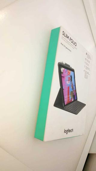 Slim Folio Teclado Bluethoot! Retroiluminado! iPad (7ma Gen)