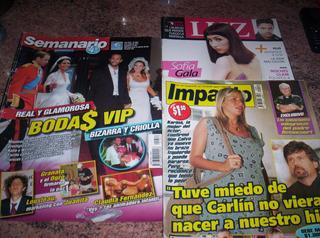 Revista Semanario: Boda Jelinek - Fariña + Impacto + Luz