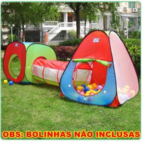 Barraca Infantil 3 Em 1 Com Túnel