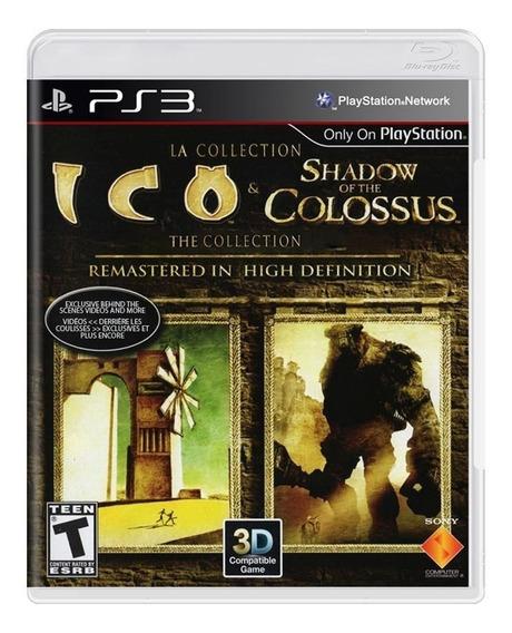 Ico & Shadow Of The Colossus - Ps3 - Mídia Física - Lacrado
