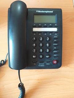 Telefono Modernphone Tc-8300w, Seminuevo