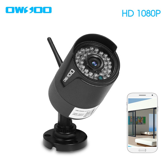 Owsoo Ca-850c-r Wi-fi Câmera De Segurança Sem Fio Full Hd
