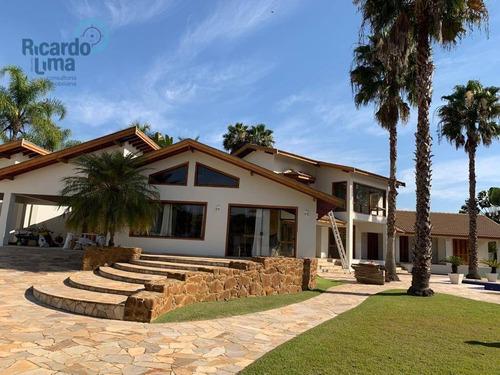 Imagem 1 de 30 de Casa Com 4 Dormitórios À Venda, 564 M² Por R$ 2.300.000,00 - Colinas Do Piracicaba (ártemis) - Piracicaba/sp - Ca1285