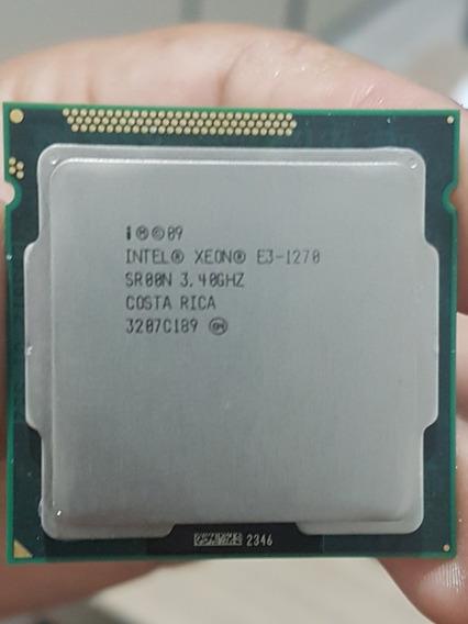 Intel Xeon E3 1270 Lga 1155 Equivale Ao I7 2600k I7 3770k