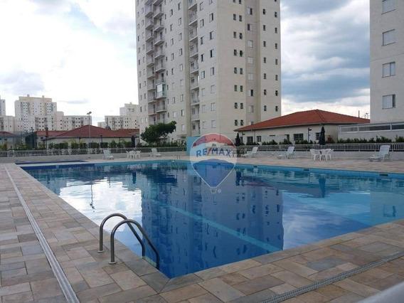 Apartamento Com 2 Dormitórios, 1 Suite À Venda Ou Locação, 64 M² Por R$ 360.000 - Vila Mogilar - Mogi Das Cruzes/sp - Ap0319