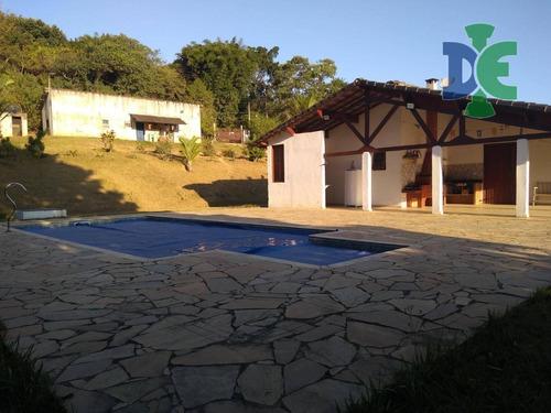 Chácara Com 2 Dormitórios À Venda, 15000 M² Por R$ 650.000,00 - Chácara Itapoã - Jacareí/sp - Ch0038