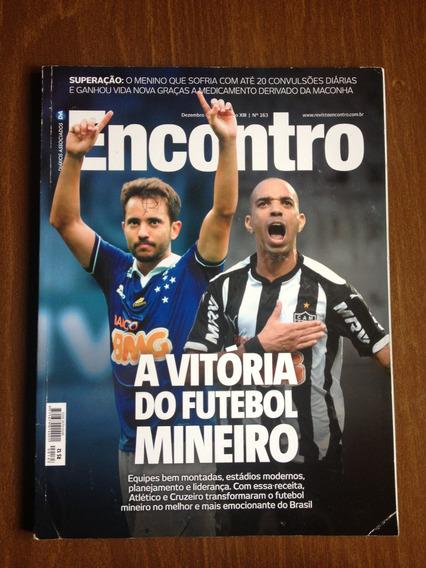 Revista Encontro 163 - Cruzeiro E Atlético - Dez/2014