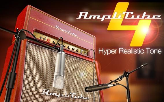 Amplitube 4 Estúdio De Timbres Para Guitarra E Baixo