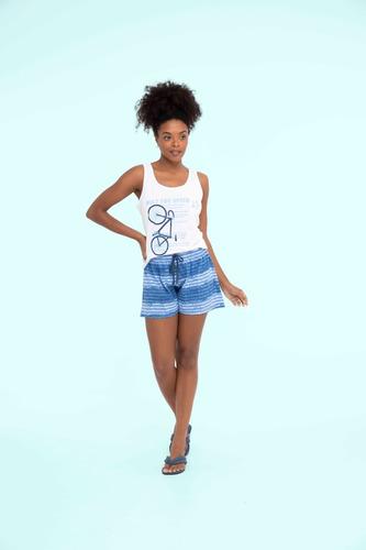 Imagem 1 de 1 de Short Doll Feminino Adulto Algodão Aventura - Ref. 13142