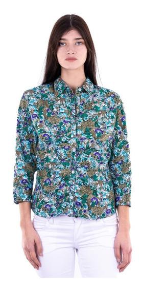 Camisa Floreada - Mujer - Blue Air Jeans