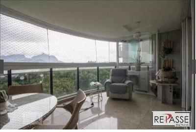 Apartamento Com 4 Dormitórios Para Alugar, 177 M² Por R$ 6.400/mês - Barra Da Tijuca - Rio De Janeiro/rj - Ap1312