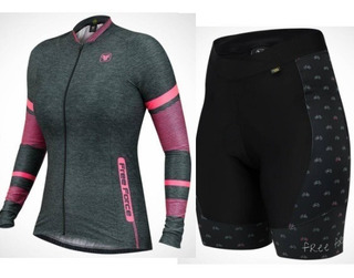 Conjunto Camisa Joint + Bermuda Sport Cycles Free Force