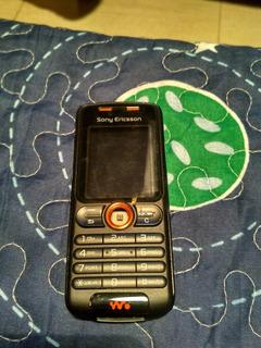 Celular Sony Ericsson W200i Com Defeito Sem Bateria