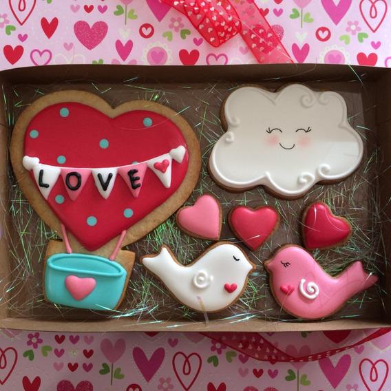 Galletas San Valentin 14 De Febrero Amor Amistad Cupcakes